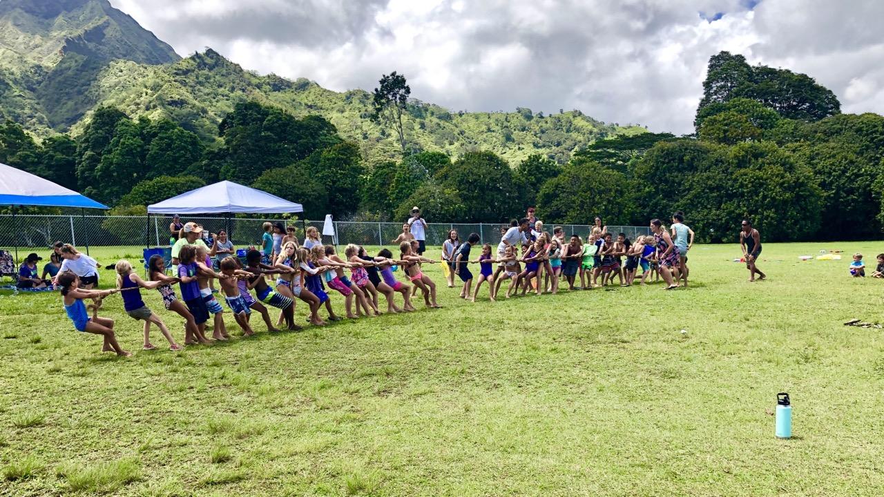 Alakai O Kauai Field Day Tug of War