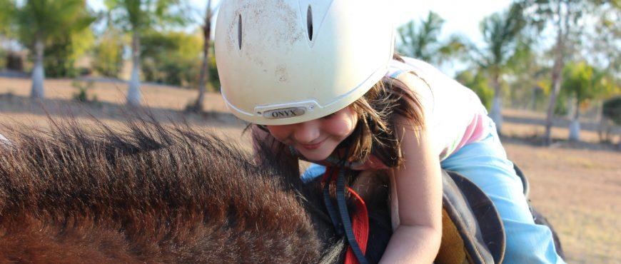 Alakai O Kauai Student Healing Horses