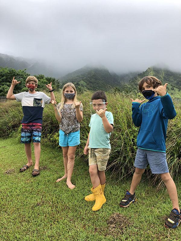 Alaka`i O Kaua`i learners