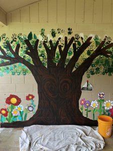 Alakai O Kauai campus art tree