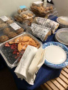 Alaka'i O Kaua'i Staff Appreciation Week snacks