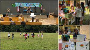 Alaka'i O Kaua'i learners on campus talent show POLs field day