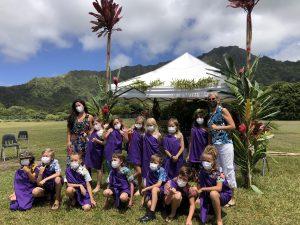 Alaka'i O Kaua'i learners Na Kupu Lau