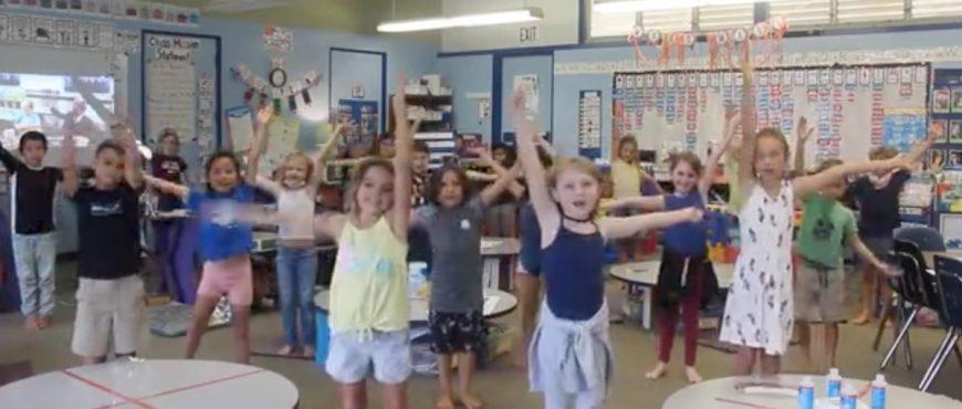 Alaka'i O Kaua'i 2nd graders Leader in Me video