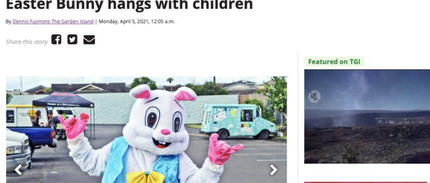 Easter Bunny Alaka'i O Kaua'i