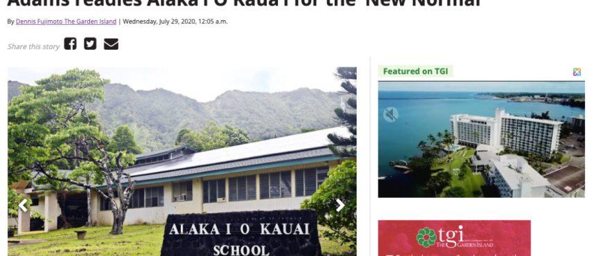Alaka'i O Kaua'i Readies for New Normal